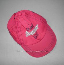 Летний комплект для девочки кепка шорты Lupilu