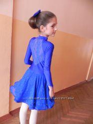 Платье для латино-американских танцев - бейсик