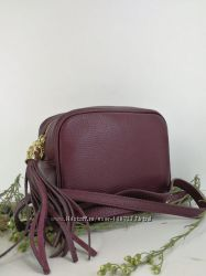 Женские сумочки кроссбоди. Натуральная кожа. Италия