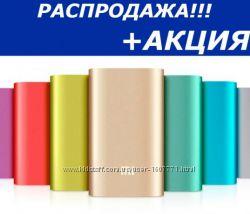 Портативная зарядка 10400, 16000, 20800 power bank xiaomi