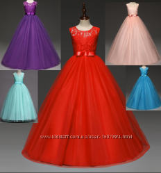 af35c43fe51 Платье длинное бальное выпускное нарядное для девочки