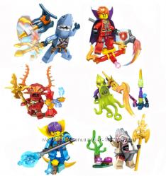 Набор Пираты Карибского моря мини фигурки Аналог лего Конструктор Игрушки