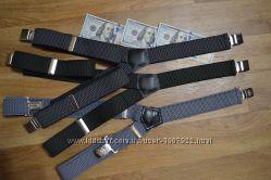 Подтяжки мужские Джентльмен У-образные в ассортиментеMade in Poland 4 см