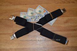 Подтяжки мужские Джентльмен X-образные в ассортиментеMade in Poland 4 см