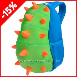 Детский рюкзак Nohoo Шипастик голубой, Гарантия 1 Год