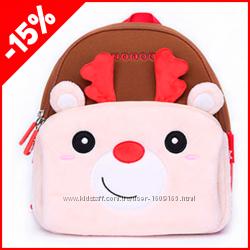 Детский рюкзак Nohoo Рудольф small, Гарантия 1 Год