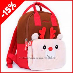 Детский рюкзак Nohoo Рудольф big, Гарантия 1 Год
