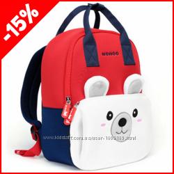 Детский рюкзак Nohoo Мишка big, Гарантия 1 Год