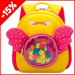 Детский рюкзак Nohoo Ангел розовый, Гарантия 1 Год