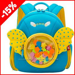 Детский рюкзак Nohoo Ангел голубой, Гарантия 1 Год