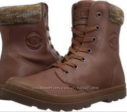 Оригинал. Кожаные ботинки Palladium Pampa Hi Knit Lp , 10US 27см