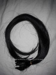 Натуральные волосы для наращивания на капсулах