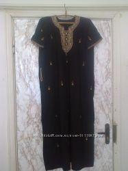 Шикарные платье рубаха восточный стиль от 52 до 66 разм