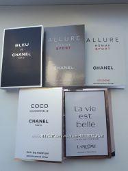 Chanel & Lancome Пробники