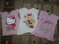 Распродажа девочкам фирменные футболочки от 1, 5 лет-4 лет