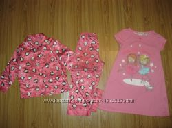 Распродажа пижамки, ночнушки, слип от 2 лет -9 лет.