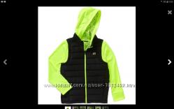 Крутецкая двухсторонняя куртка -  толстовка с жилетом на змейке р. 134-164
