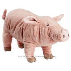 Ikea Мягкая игрушка, розовый поросенок. В наличии