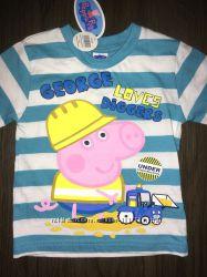 Футболочка  Peppa Pig 12-18 месяцев