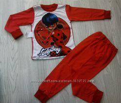 Детская пижама Леди Баг  104 - 140 для девочки