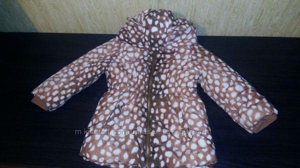 Продам детскую куртку H&M для девочки