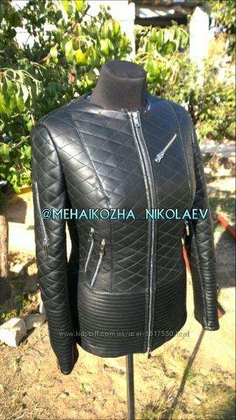 Шикарная модель куртка из натуральной кожи