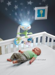 Мобиль-проектор детский  Сон бабочки Fisher Price CDN41