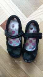 Детские туфли School Shoes для девочки черные 27 размер