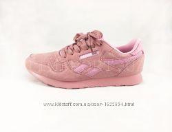 Кроссовки Reebok Classic замшевые розовые e1f4383141c5c