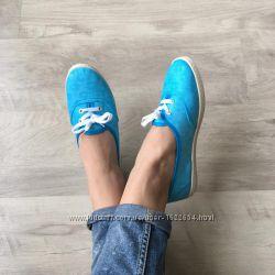Балетки голубые легкие