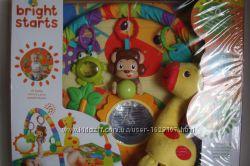 Развивающий коврик Bright-Starts 4 In 1 Jungle Discovery Activity Gym 52275