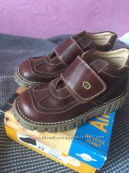 Черевики чобітки ботинки хлопчику andanines. 33р. шкіряні. нові ... 01bd059e7f5b5