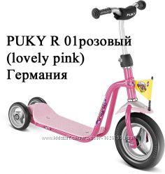 Лёгкий трёхколёсный самокат Puky R 1. Для деток от 2-х до 5 лет. Германия.