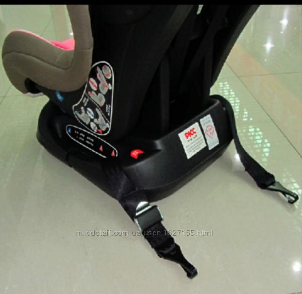 Ремни безопасности крепления фиксации автокресла. 2крюка. Isofix