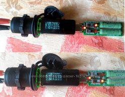 USB Dual зарядка врезная, c подсветкой, зарядное для смартфона в авто