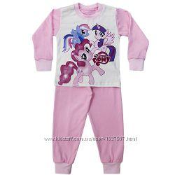 Пижама для девочки о  2 до 5 лет Пони Поні