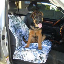 Авточехол чехол на переднее сиденье для перевозки животных собаки кошки