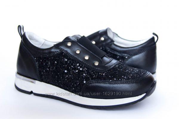 Стильні шкіряні кросівки для дівчат - взуття від виробника 26e3ea512a0f8
