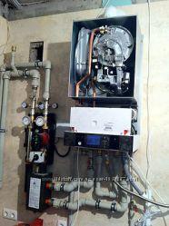 Монтаж системы отопления, установка газовых котлов под ключ г. Днепр