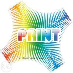 Полиграфия дизайн, печать визитки, листовки, баннера, наклейки итд