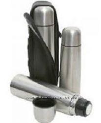 Термосы вакуумные  c чехлом от FRICO на1, 0л. 0, 75л. 0, 5л. 0, 35 литра.