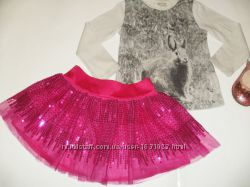 Фатиновая юбка , реглан ZARA