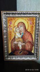 Икона из янтаря
