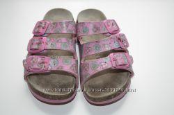 Ортопедические сандалии немецкой марки Birkenstock р-28 кожа