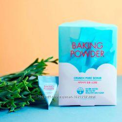 Порционный скраб с содой Etude House Baking Powder Crunch Pore Scrub