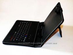 Чехол клавиатура для планшета 10 Rus MicroUSB Black