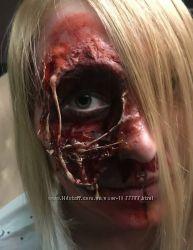 Искуственная кровь, воск, латекс, гримм, хеллоуин, аквагримм, стереоэффекты