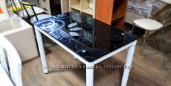 Стол стеклянный Damar 100х60 польской фирмы Signal  В НАЛИЧИИ