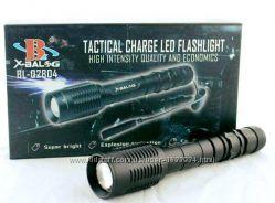 Фонарик police  BL-Q 2804-T6 противоударный 220 мм