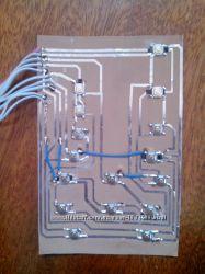 Плата клавиатуры микроволновки Daewoo KOG-6C2BS, KOG-6C2BW